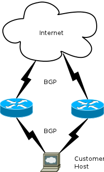bgp hosting dynamic simple